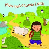 Mary Had a Little Lamb Classic Books With Holes Board Book - 16 x 16cm - Ea