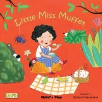 Little Miss Muffet Classic Books With Holes Board Book - 16 x 16cm - Each