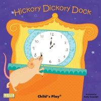 Hickory Dickory Dock Classic Books With Holes Board Book - 16 x 16cm - Each