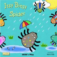 Itsy Bitsy Spider Classic Books With Holes Board Book - 16 x 16cm - Each