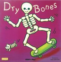 Dry Bones Classic Board Book with Holes - 16 x 16cm - Each