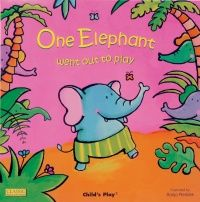 One Elephant Classic Books With Holes Board Book - 16 x 16cm - Each