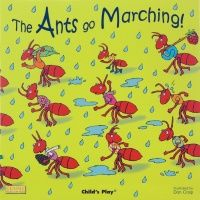 Ants Go Marching Classic Board Book with Holes - 16 x 16cm - Each