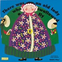 Old Lady Who Swallowed a Fly Classic Books With Holes Board Book - 16 x 16c