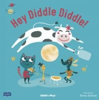 Hey Diddle Diddle Classic Books With Holes Soft Cover Book - 29 x 29cm - Ea