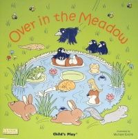 Over in the Meadow Classic Books With Holes Soft Cover Book - 29 x 29cm - E