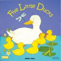 Five Little Ducks Classic Books With Holes Soft Cover Book - 29 x 29cm - Ea