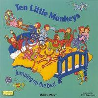 Ten Little Monkeys Classic Books With Holes Soft Cover Book - 29 x 29cm - E