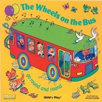 The Wheels on the Bus Classic Books With Holes Soft Cover Book - 29 x 29cm