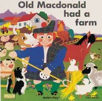 Old MacDonald had a Farm Classic Books With Holes Soft Cover Book - 29 x 29