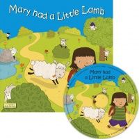 Child's Play Mary had a Little Lamb Classic Books With Holes Soft Cover Boo