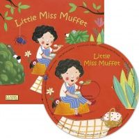 Little Miss Muffet Classic Books With Holes Soft Cover Book with CD - 29 x