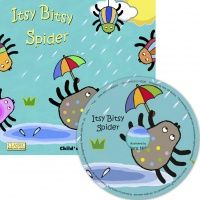 Itsy Bitsy Spider Classic Books With Holes Soft Cover Book with CD - 29 x 2
