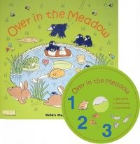 Over in the Meadow Classic Books With Holes Soft Cover Book with CD - 29 x