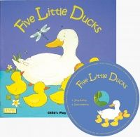 Five Little Ducks Classic Books With Holes Soft Cover Book with CD - 29 x 2