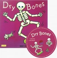 Dry Bones Classic Books With Holes Soft Cover Book with CD - 29 x 29cm - Each