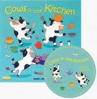 Cows In The Kitchen Classic Soft Cover Book with Holes & Audio CD - 29 x 29cm - Each