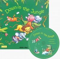 Down in the Jungle Classic Soft Cover Book with Holes & Audio CD - 29 x 29cm - Each