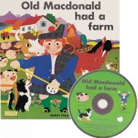 Old MacDonald had a Farm Classic Books With Holes Soft Cover Book with CD -