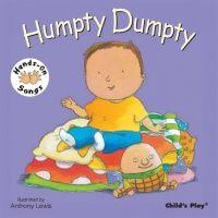 Humpty Dumpty Hands-On Songs Board Book - 21 x 21cm - Each