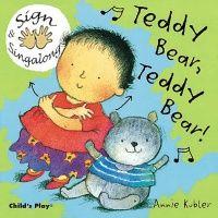 Teddy Bear, Teddy Bear! Sign & Singalong Board Book - 19 x 19cm - Each