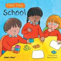 First Time : School Soft Cover Book - 21 x 21cm - Each