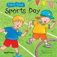 First Time Sports Day Soft Cover Book - 21 x 21cm - Each