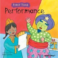First Time : Performance Soft Cover Book - 21 x 21cm - Each
