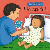 First Time : Hospital Soft Cover Book - 21 x 21cm - Each