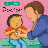First Time : The Doctor Soft Cover Book - 21 x 21cm - Each