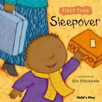 First Time : Sleepover Soft Cover Book - 21 x 21cm - Each
