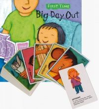 First Time : Big Day Out Soft Cover Book + Set to Sign Cards  - 21 x 21cm -
