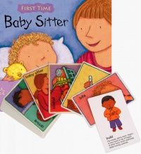 First Time : Baby Sitter Soft Cover Book + Set to Sign Cards - 21 x 21cm - Each