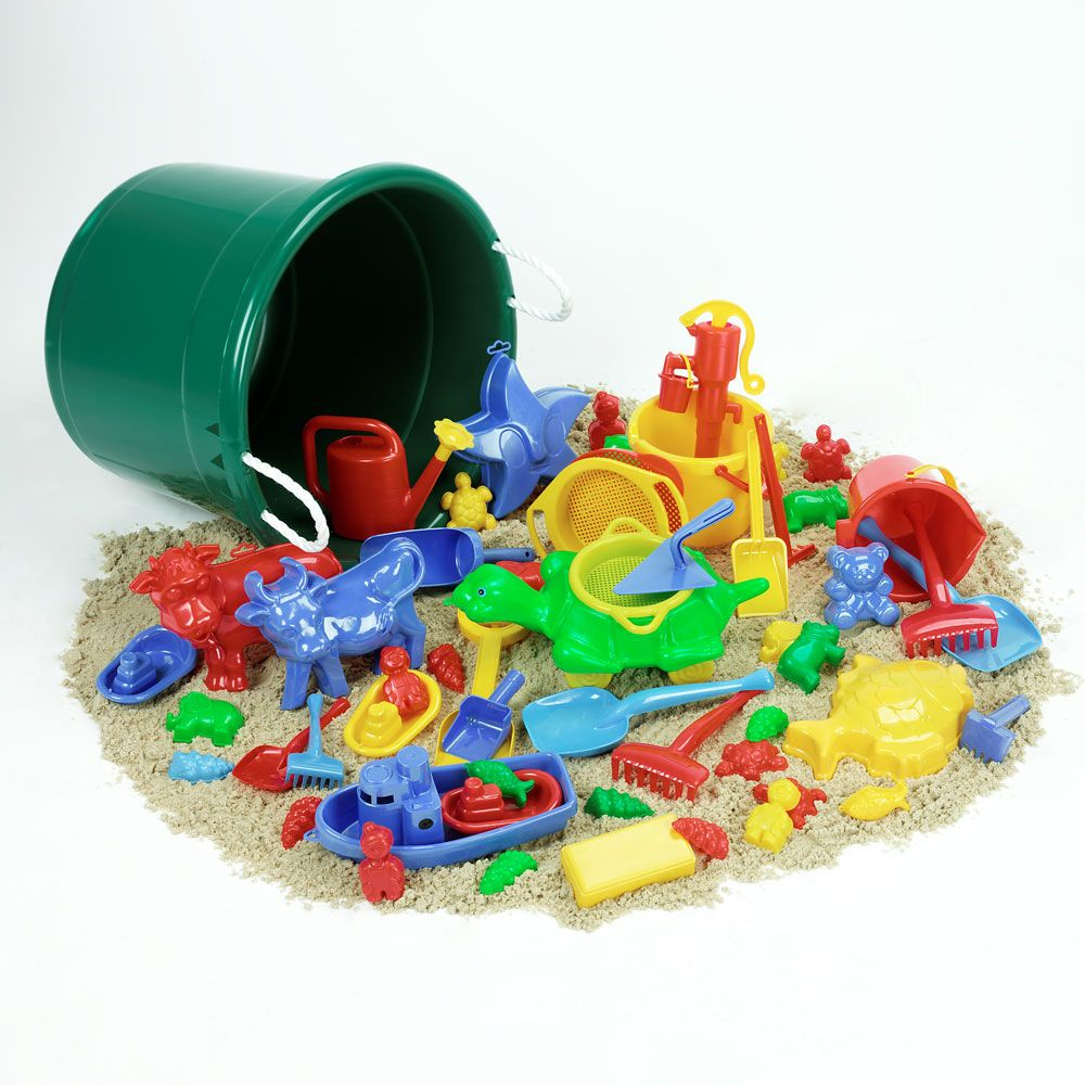Sand and Water Play Set Tub - Assorted - Tub of 50