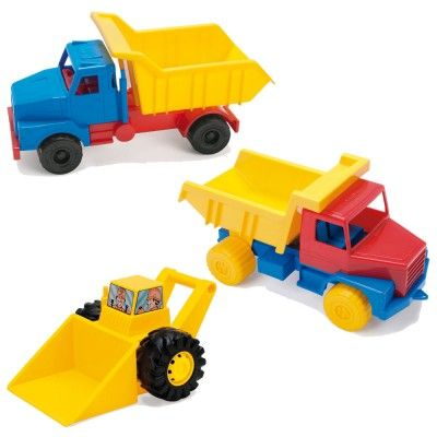 Sand and Water Vehicle Pack - Assorted - Set of 3