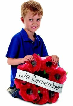 Remembrance Day Poppy Kit - Assorted - R42005 - Pack of 50