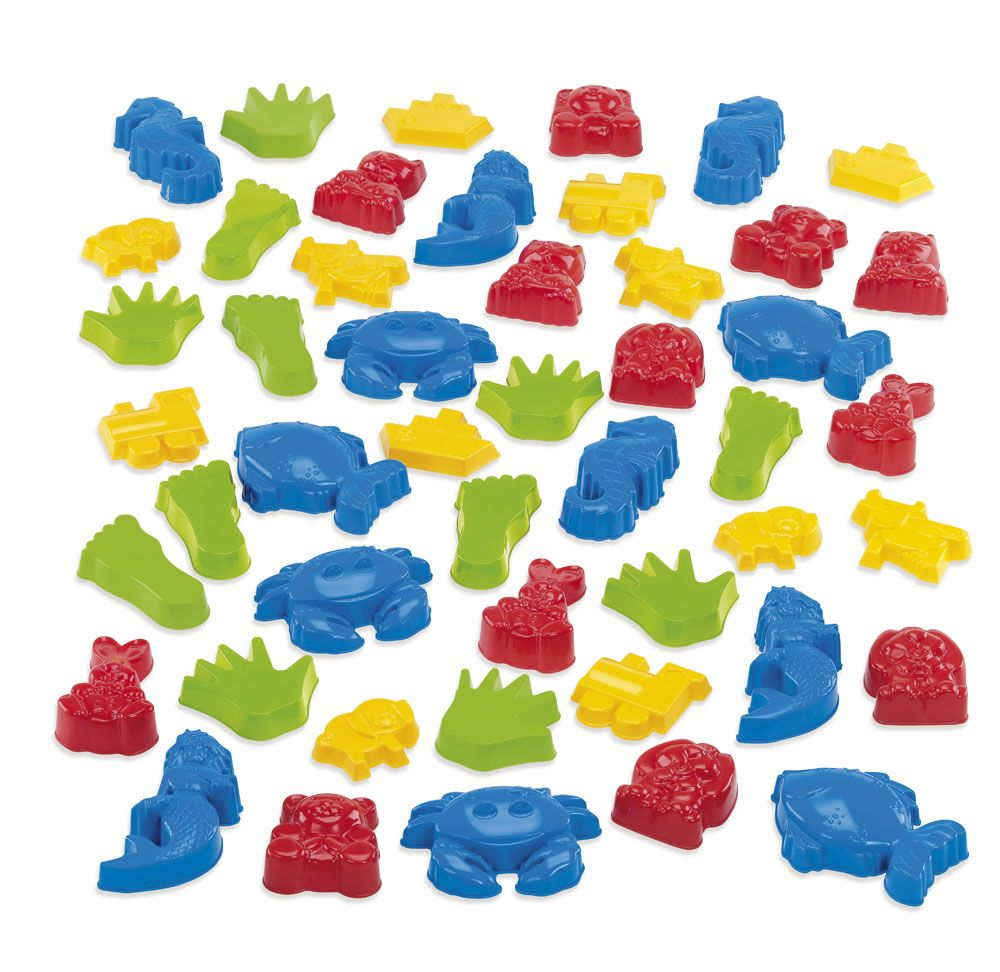 Sand Moulds - Assorted - Pack of 48