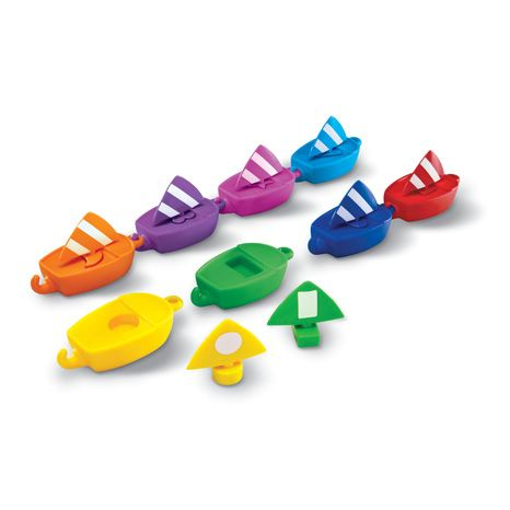 Smart Splash Sail Away Sail Boats - Assorted - Pack of 8