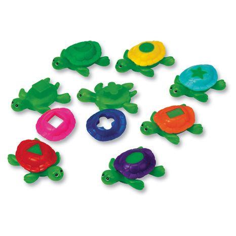 Smart Splash Shape Turtles - Assorted - Pack of 6