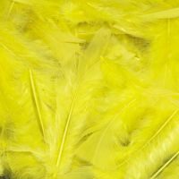 Yellow Feathers - Assorted - 25g Bag