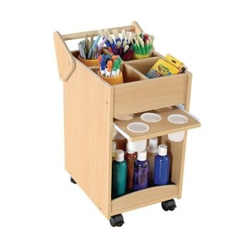 Mobile Art Cart - 500 x 382 x 698mm - Each