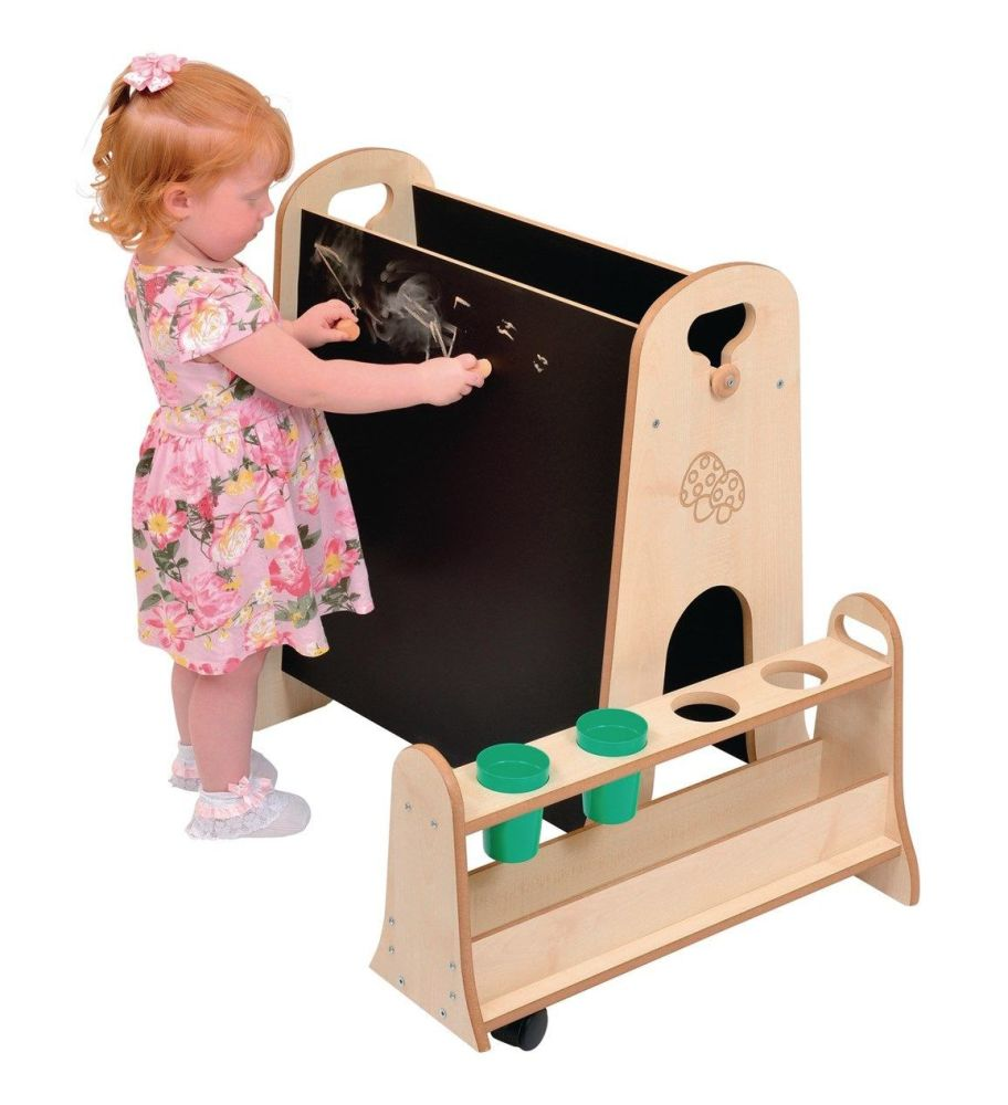 Mini Easel with Storage Trolley - Per Set