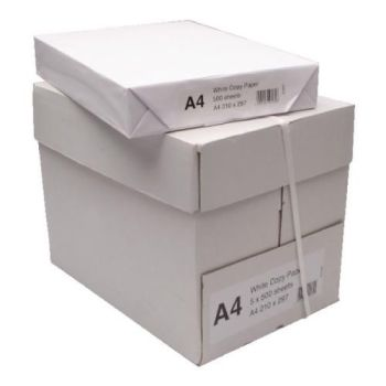 A4 White Copier Paper - 80g - 210 x 297mm - Pack of 500