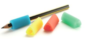 Jumbo Size Triangular Pencil Grips - Assorted - Pack of 10