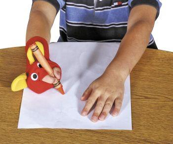 Ellie Grip Right Handed Pencil Grip Sock Friend - Each