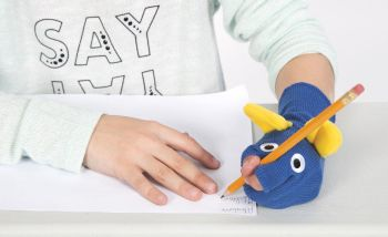 Ellie Grip Left Handed Pencil Grip Sock Friend - Each