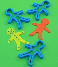 Gingerbread Cutters - Pack of 3