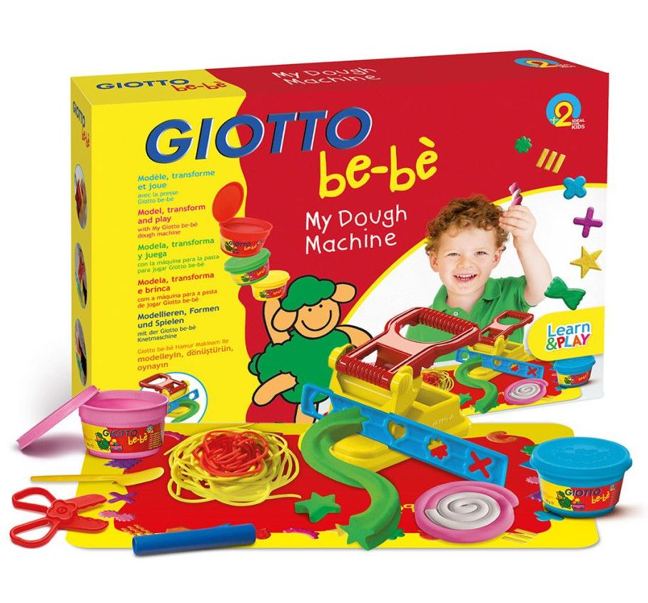 Giotto Be-be' Soft Dough Modelling Machine - Assorted - Pack