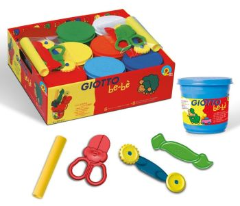 Giotto Be-be' Soft Modelling Dough School Set - Assorted - Pack