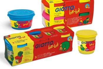 Giotto Be-be' Soft Modelling Dough Set - Assorted - 220g - Pack of 3